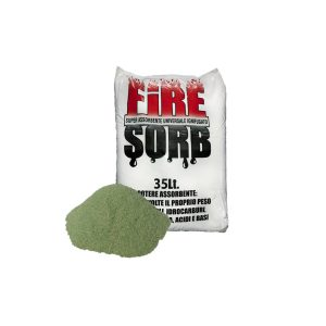 Firesorb Assorbente vegetale ignifugato per liquidi 35 Litri