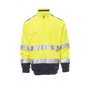 Payper Wear Felpa Vision alta visibilità Giallo/Blu